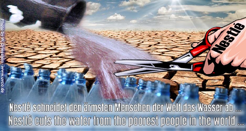 Zum Beitrag Wasser ist ein Grundrecht, kein Lebensmittel