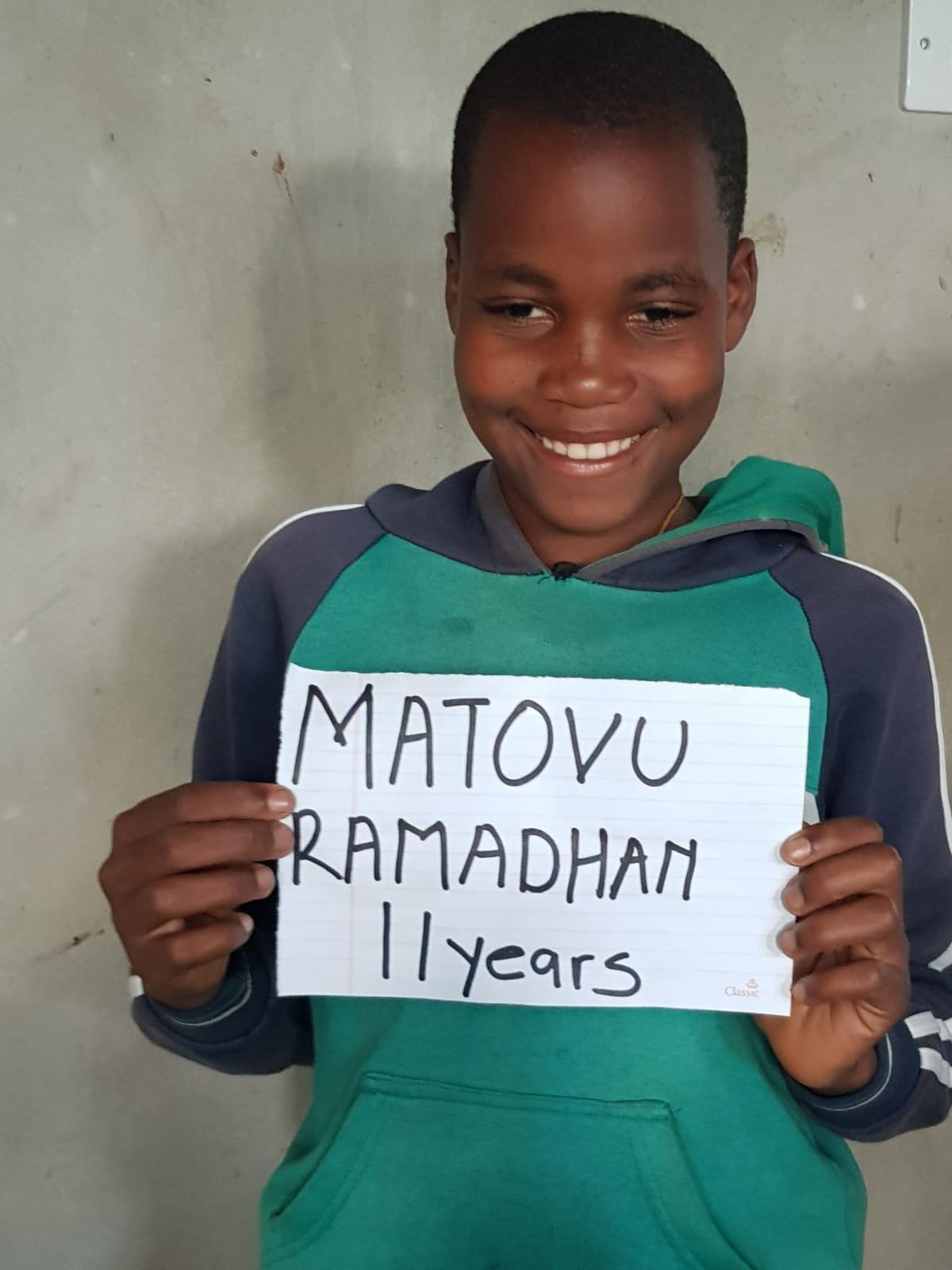 Matovu, Ramathan