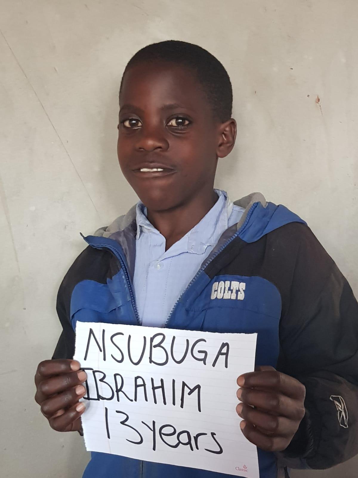 Nsubuga, Ibrahim